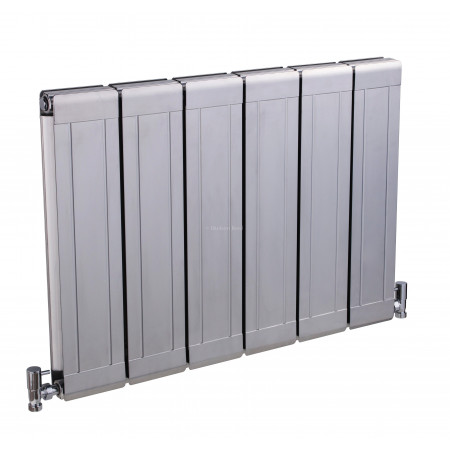 Hudson Reed Glee Radiator High Gloss Silver HLS07