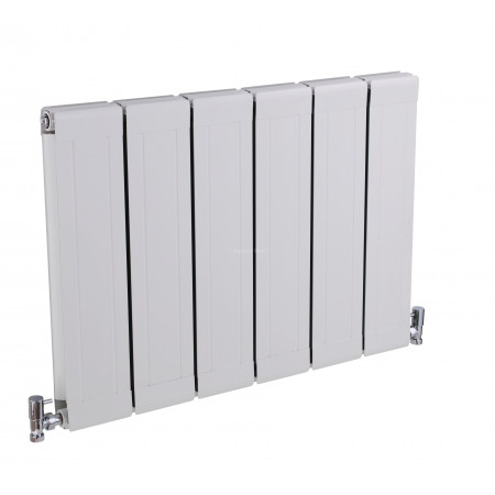 Hudson Reed Glee Radiator, White Finish HLW07