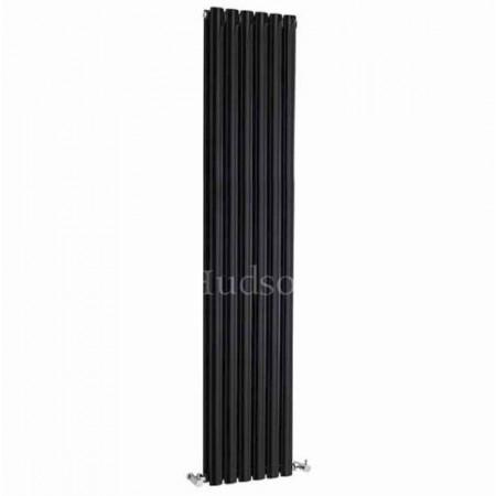 Hudson Reed Revive Double Panel Designer Radiator - High Gloss Black HLB77