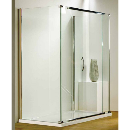 Kudos Infinite 1700mm Straight Sliding Door Enclosure with Side Access