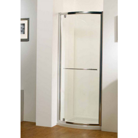 Kudos Original 800mm Bowed Pivot Shower Door