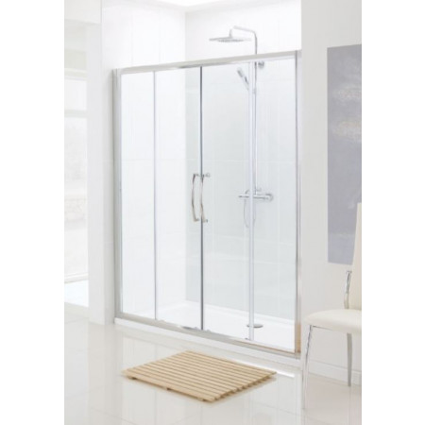 Lakes 1400mm Double Sliding Shower Door