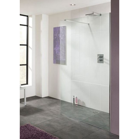 Lakes 800mm Cannes 10mm Walk-In Shower Panel