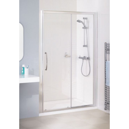 Lakes Bathrooms 2000mm Semi Frameless Sliding Shower Door