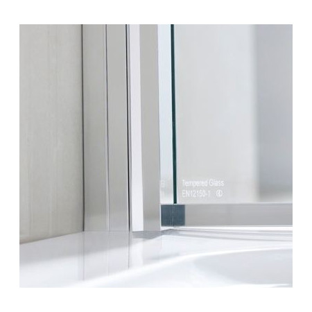 Lakes Rhodes 750mm Walk In Shower Panel