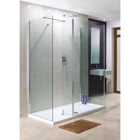 Lakes Rhodes 850mm Walk In Shower Panel