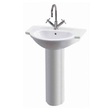 Linton 600mm Basin And Pedestal
