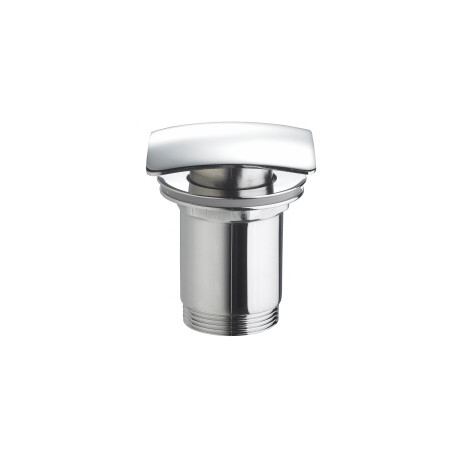 Marflow Square basin Waste, Unslotted with Spring Plug T945