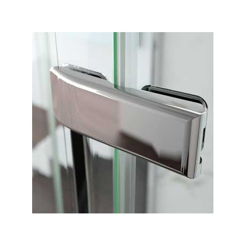 Merlyn 8 Series Frameless 1 Door Offset Quadrant 900 x 760mm