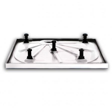 Merlyn 900 x 760mm M Stone Shower Tray