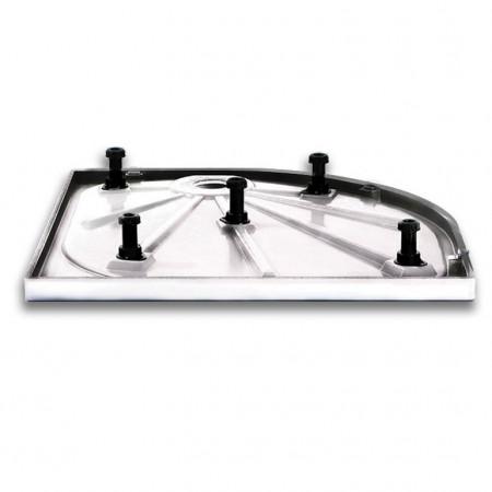 Merlyn M Stone Quadrant Tray 900mm x 900mm