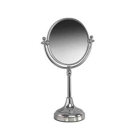 Miller Freestanding Chrome Mirror