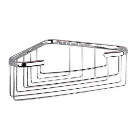 Miller Large Chrome Corner Basket