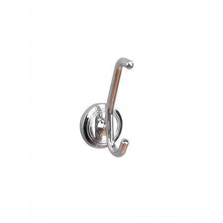 Miller Oslo Double Robe Hook 8012C