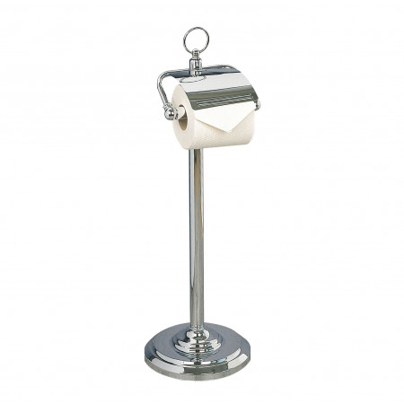 Miller Free Standing Toiler Roll Holder With Lid