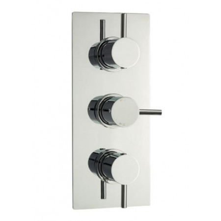Minimalist Lever Triple Concealed Thermostatic Shower Valve