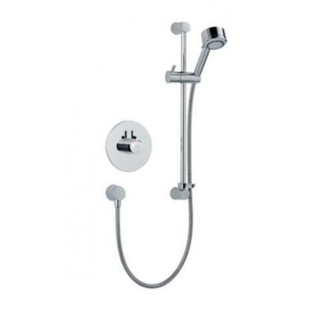 STY-Mira Miniduo Thermostatic Shower BIV (Built-In Valve) All Chrome-1