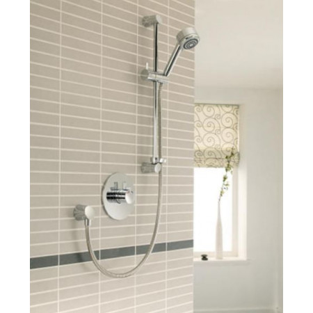 STY-Mira Miniduo Thermostatic Shower BIV (Built-In Valve) All Chrome-2