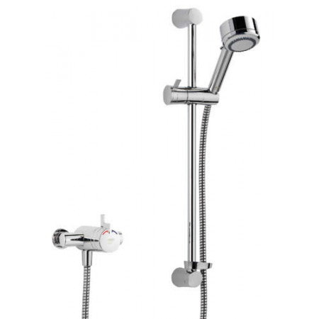 STY-Mira Miniduo Thermostatic Shower EV (Exposed Valve) All Chrome-1