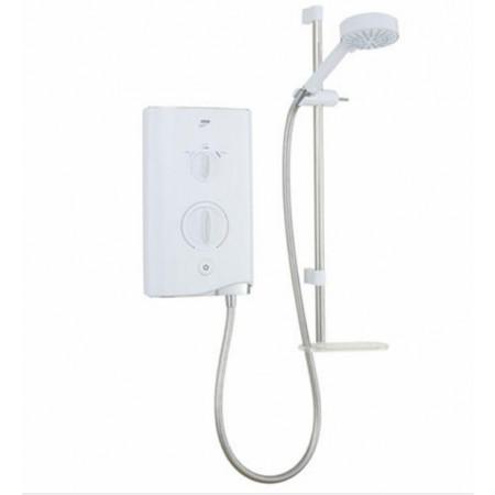 Mira Sport Electric Shower 9.8kw White & Chrome