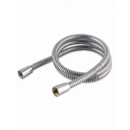 1.25m Chrome Effect PVC Hi-Flow Shower Hose