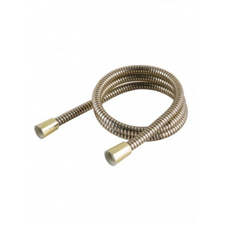 1.50m Gold Effect PVC Hi-Flow Shower Hose