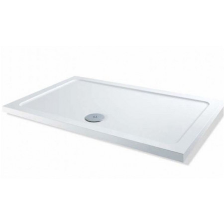 900mm x 800mm Low Profile Rectangle Shower Tray