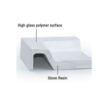 MX Classic Stone Resin Shower Tray 1000 x 1000mm