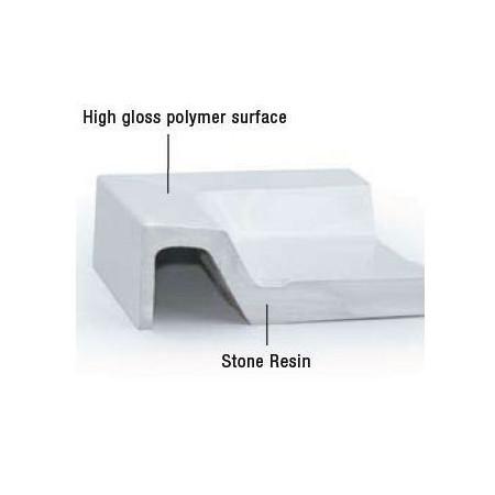 MX Stone Resin Shower Tray 1700x750mm