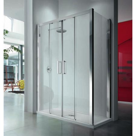 Novellini Kuadra 2A Double Sliding 1700mm Shower Door