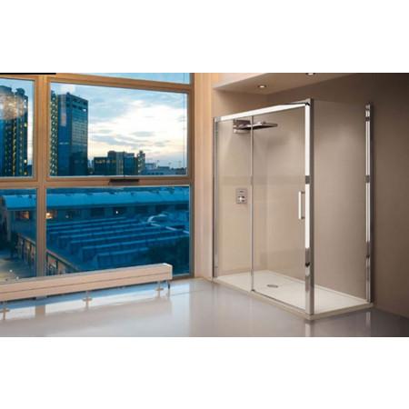 Novellini Kuadra 2P Sliding Shower Door 1020mm - 1080mm