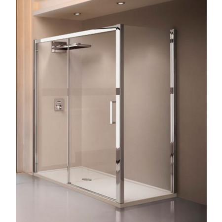 Novellini Kuadra 2P Sliding Shower Door 1680mm - 1740mm