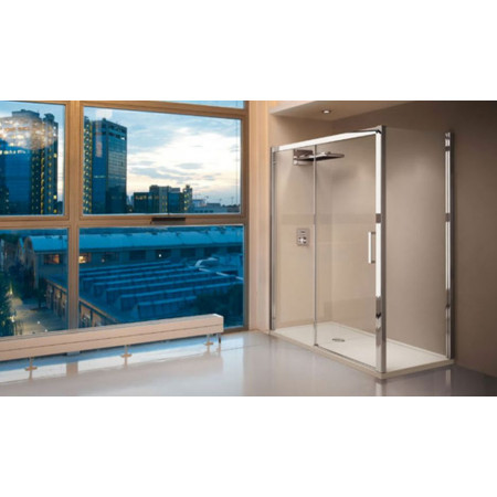 Novellini Kuadra 2P Sliding Shower Door 960mm
