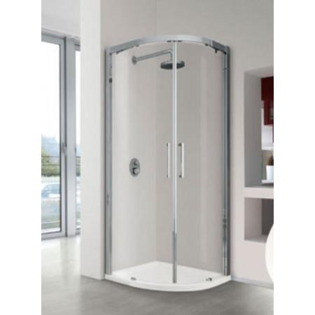 Novellini Kuadra R Curved Shower Enclosure 900 x 900