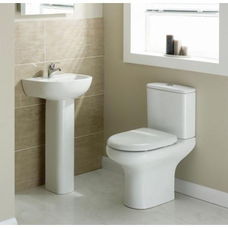 Rak Compact Close Coupled WC with Soft Close Seat