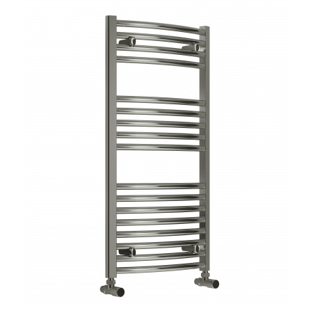 Reina Diva 1000 x 500mm Curved Heated Towel Rail