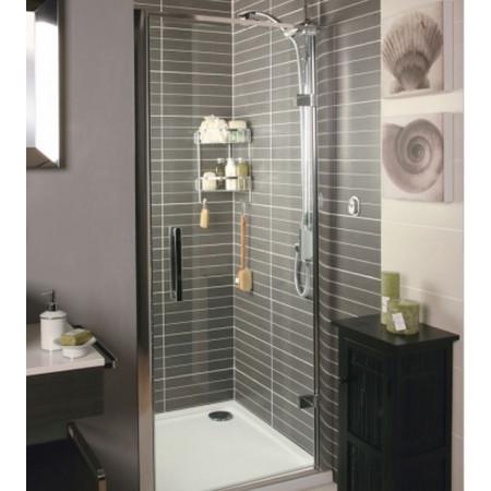 Roman 900mm Embrace Hinged Shower Door