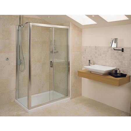 Roman Embrace 1400mm Sliding Shower Door