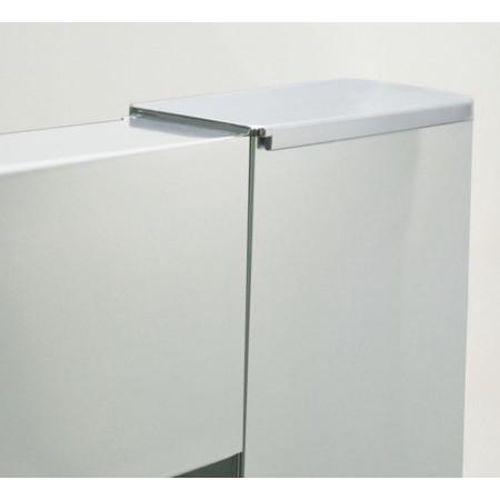 Roman Lumin8 One Door 800 x 1200 Offset Quadrant Shower Enclosure