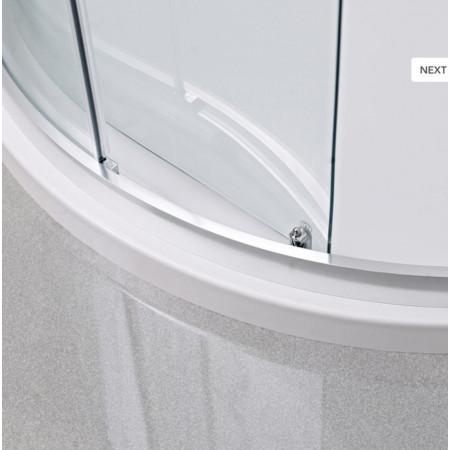 Roman Lumin8 One Door 800 x 800 Quadrant Shower Enclosure
