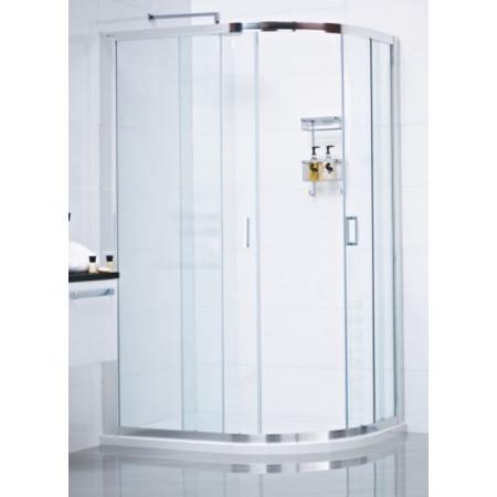 Roman Lumin8 Two Door 800 x 1000 Offset Quadrant Shower Enclosure