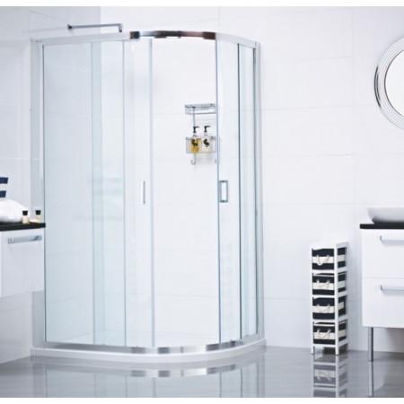 Roman Lumin8 Two Door 800 x 900 Offset Quadrant Shower Enclosure
