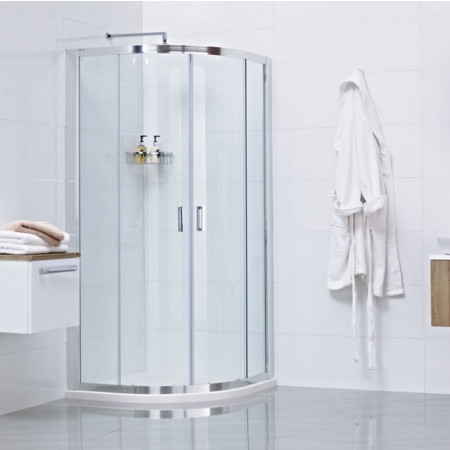 Roman Lumin8 Two Door 900 x 900 Quadrant Shower Enclosure