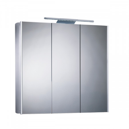 Stainless Steel Bathroom Cabinets Roper Rhodes Absolute Triple Mirror Glass Door Cabinet