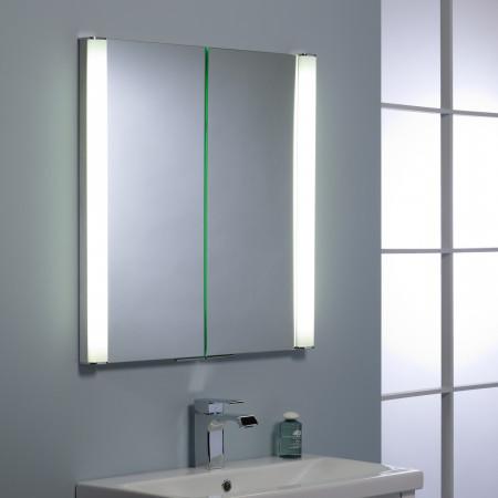 Roper Rhodes Transition Double Mirror Glass Door Cabinet