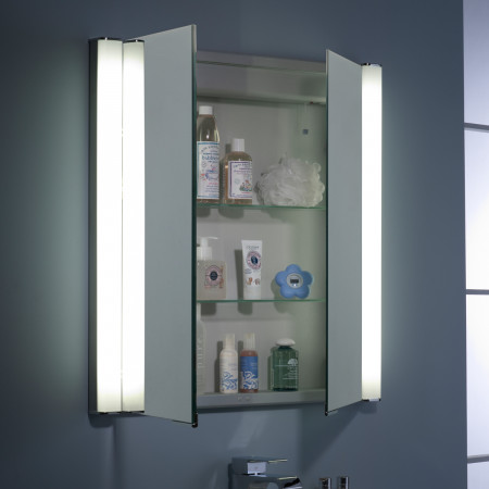Roper Rhodes Transition 700mm Double Door Illuminated Cabinet