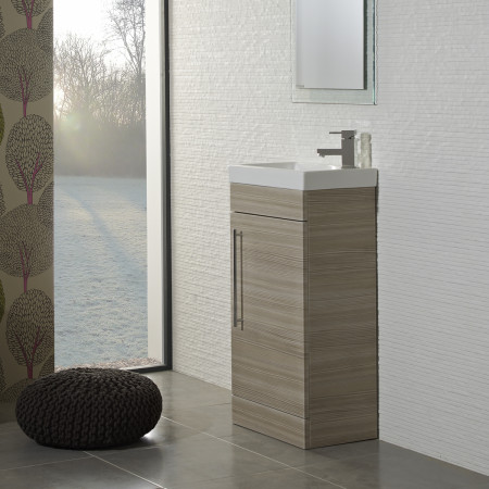 Roper Rhodes Esta Pale Driftwood 445mm Freestanding Unit with Basin