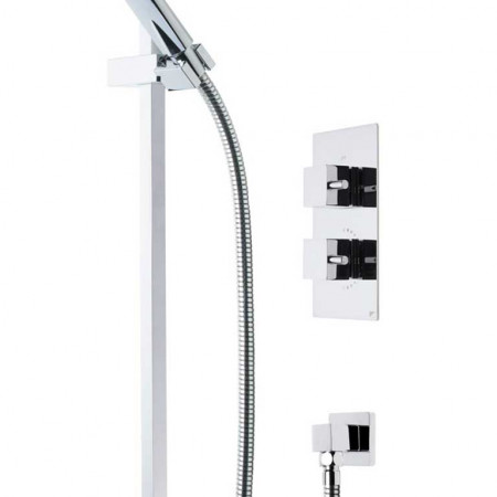 Roper Rhodes Event Square Dual Function Shower System with Fixed Shower Head SVSET17