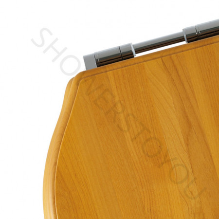 Roper Rhodes Greenwich Solid Wood Antique Pine Soft Close Toilet Seat