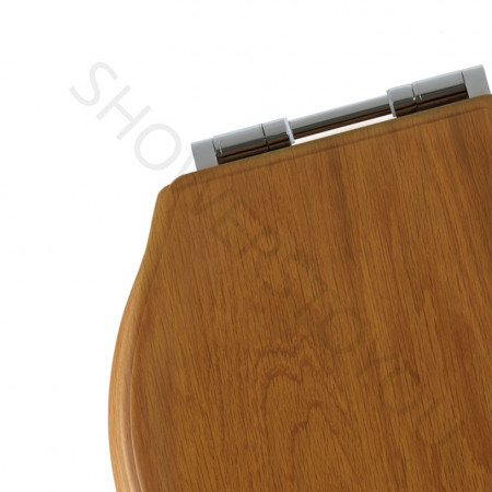 Roper Rhodes Greenwich Solid Wood Honey Oak Soft Close Toilet Seat hinge